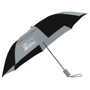 "42"" Auto Open Vented Folding Umbrella, SM-9514, 1 Colour Imprint"