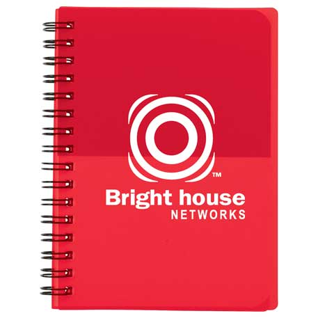 Colour Block Notebook - Small, SM-3469 - 1 Colour Imprint
