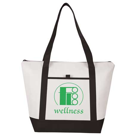 Lighthouse 24-Can Non-Woven Tote Cooler, SM-7314, 1 Colour Imprint