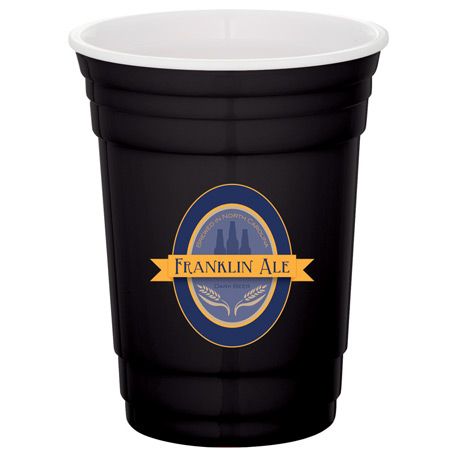 Tailgate 16-oz. Party Cup, SM-6588 - 1 Colour Imprint