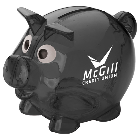 Mini Piggy Bank, SM-3191, 1 Colour Imprint
