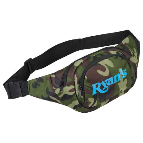 Camo Hunt Fanny Pack, SM-7112, 1 Colour Imprint