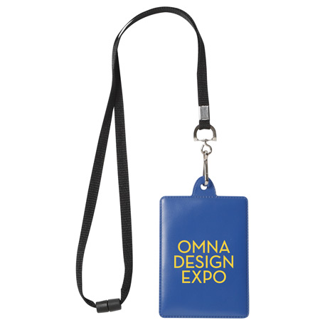 Ultra I.D. Holder with Lanyard, SM-2427, 1 Colour Imprint