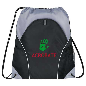 Marathon Drawstring Bag, SM-7392, 1 Colour Imprint