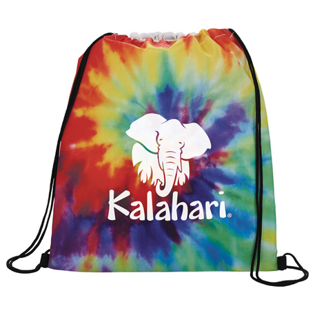 Tie Dye Drawstring Sportspack, SM-7379 - 1 Colour Imprint