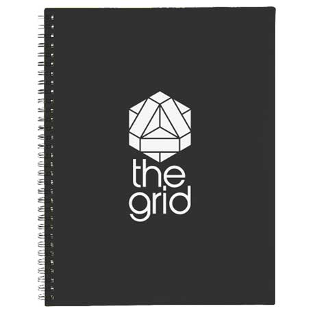 Large Business Spiral Notebook, SM-3412 - 1 Colour Imprint