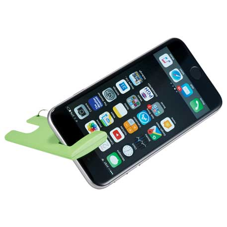 Duple Phone Stand with Screen Cloth, SM-3735 - 1 Colour Imprint