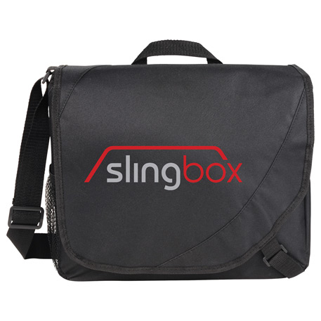 Storm Slim Messenger Bag, SM-7414, 1 Colour Imprint