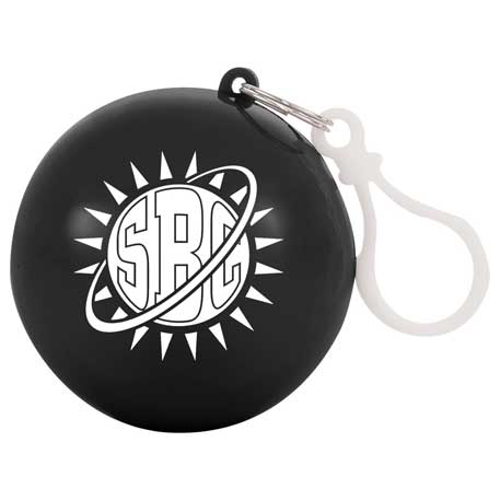 Rally Rain Poncho Ball, SM-9504 - 1 Colour Imprint