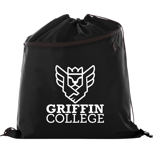 Large Robin Drawstring Bag, SM-7746, 1 Colour Imprint