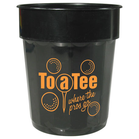 Fluted 16oz Stadium Cup, HL-511, 1 Colour Imprint