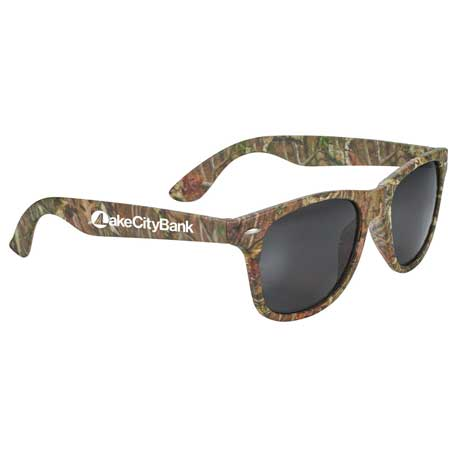 The Sun Ray Sunglasses - Camouflage, SM-7810 - 1 Colour Imprint