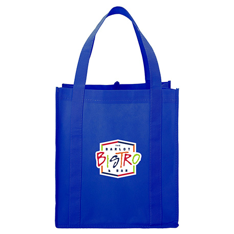 Hercules Non-Woven Grocery Tote, SM-7427, 1 Colour Imprint