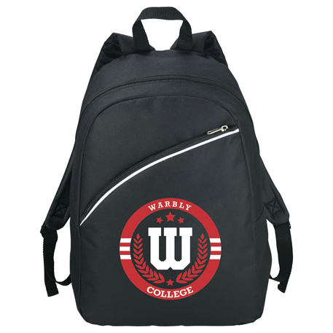Arc Slim Backpack, SM-7155, 1 Colour Imprint