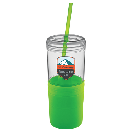 Babylon 22-oz. Tumbler with Straw, SM-6612 - 1 Colour Imprint
