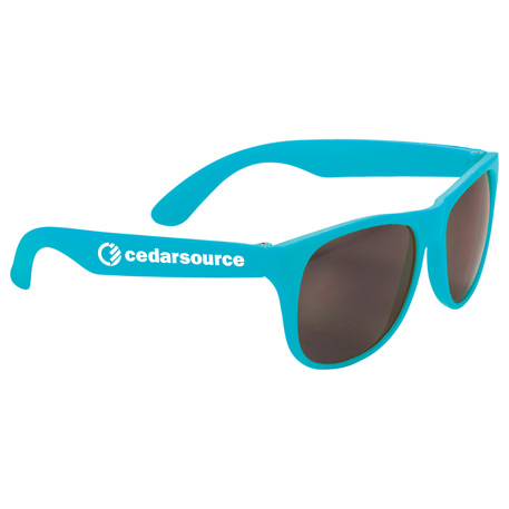 Solid Retro Sunglasses, SM-7861, 1 Colour Imprint