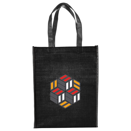Crossweave Non-Woven Tote, SM-5720, 1 Colour Imprint