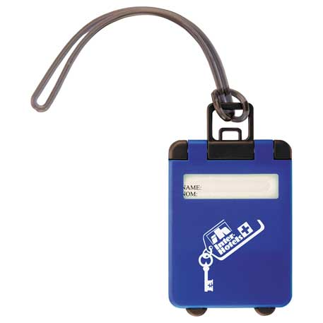 Taggy Luggage Tag, SM-2393, 1 Colour Imprint