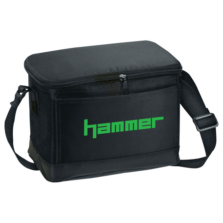 Classic 6-Can Lunch Cooler, SM-7500, 1 Colour Imprint
