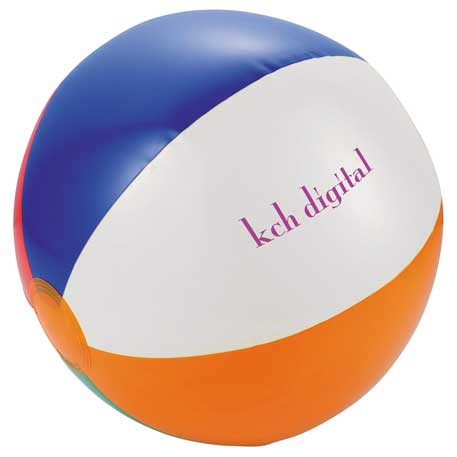 Swirl Beach Ball, SM-7633, 1 Colour Imprint