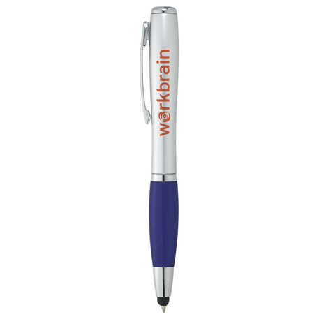 Nash Pen-Stylus and Light - Glamour, SM-4620 - 1 Colour Imprint
