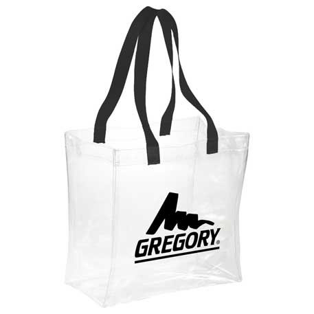 Rally Clear Stadium Tote, SM-7400, 1 Colour Imprint