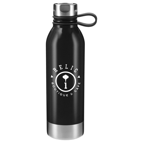 Perth 25oz Stainless Sports Bottle, SM-6975, 1 Colour Imprint