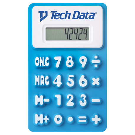 Flex Calculator, SM-3122, 1 Colour Imprint