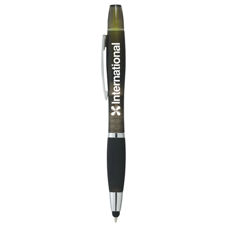 Nash Pen-Stylus-Highlighter - Crystal, SM-4809 - 1 Colour Imprint