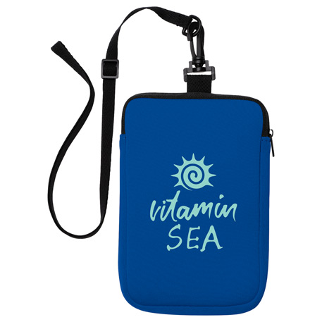Sandbar Neoprene Waterproof Pouch, SM-7903, 1 Colour Imprint