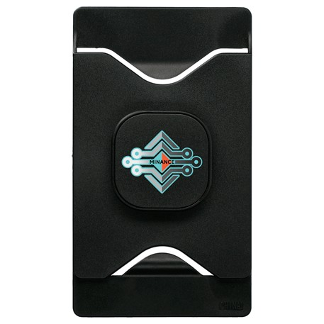 Phone Holder with Card Wallet, SM-2923, 1 Colour Imprint