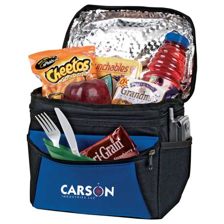 On the Go 6 Can Lunch Cooler, SM-7493 - 1 Colour Imprint