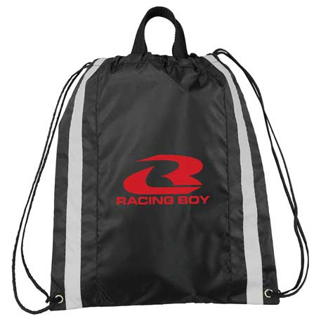 Small Reflective Drawstring Sportspack, SM-7393 - 1 Colour Imprint