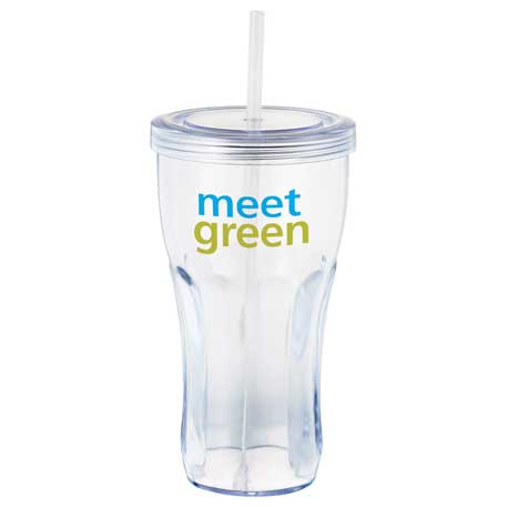 Fountain Soda 24oz Tumbler, SM-6868, 1 Colour Imprint