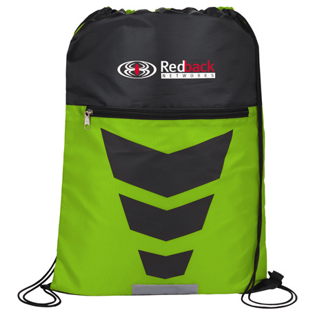 Courtside Drawstring Bag, SM-7371, 1 Colour Imprint
