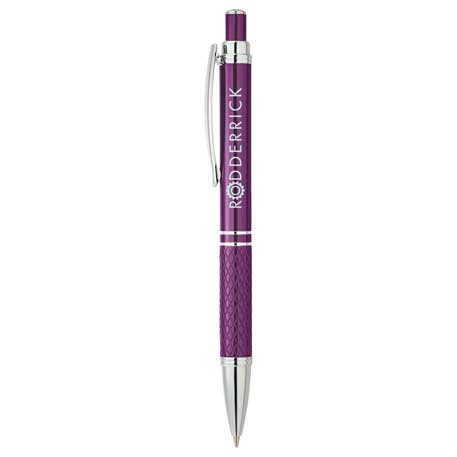 The Jewel Metal Pen, SM-5238 - Laser Engraved Imprint