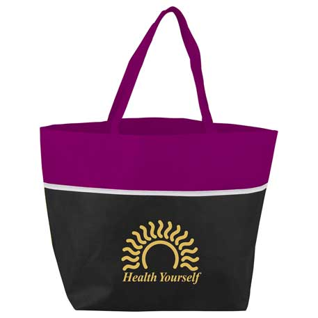 Deluxe YaYa Tote, SM-7146, 1 Colour Imprint