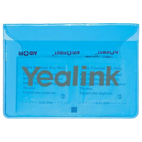 In The Clear 9-Piece First Aid Pack, SM-1504, 1 Colour Imprint