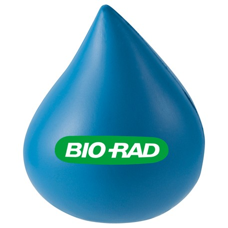 Water Drop Stress Reliever, SM-3382, 1 Colour Imprint