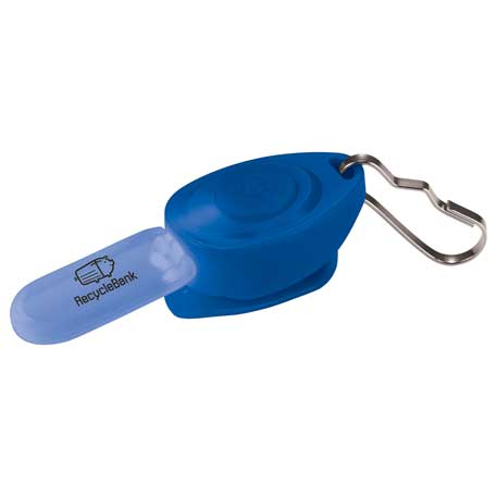 Zipper Puller Safety Light, SM-9710 - 1 Colour Imprint