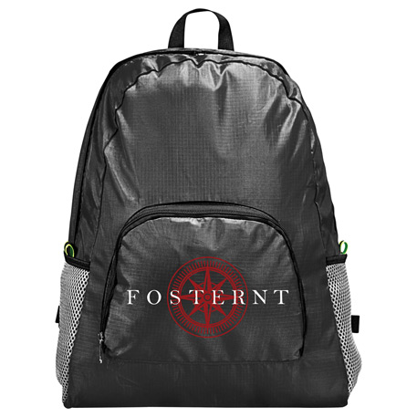 Packable Backpack, SM-5836, 1 Colour Imprint