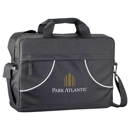 Quill Meeting Briefcase, SM-7445, 1 Colour Imprint