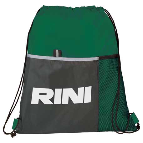 Free Throw Drawstring Bag, SM-7295, 1 Colour Imprint