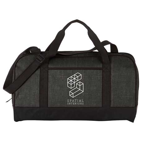 "Heather 18"" Duffel Bag, SM-7757, 1 Colour Imprint"