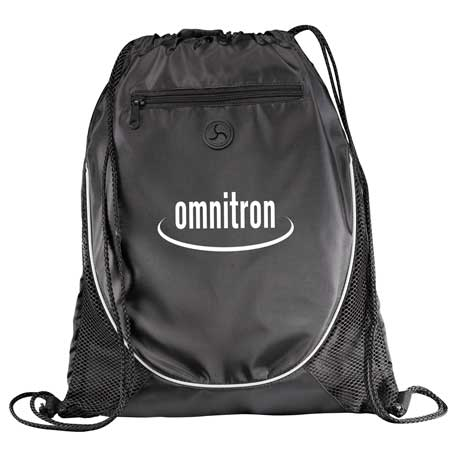 Peek Drawstring Bag, SM-7350, 1 Colour Imprint
