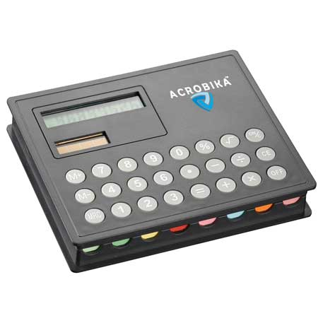 Calculator and Sticky Note Case, SM-3231, 1 Colour Imprint