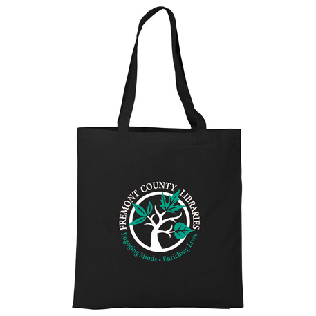 4 oz. Basic Cotton Canvas Tote, SM-7212 - 1 Colour Imprint