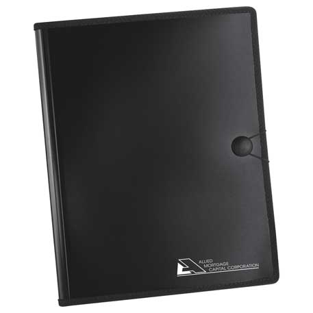 Plastic Padfolio, SM-3456, 1 Colour Imprint