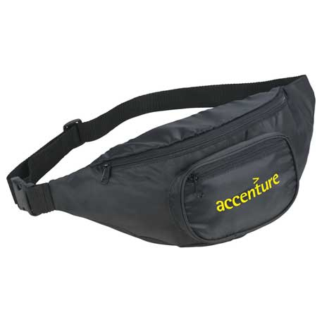 Hipster Deluxe Fanny Pack, SM-7103 - 1 Colour Imprint
