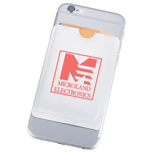 RFID Card Smart Phone Wallet, SM-2564, 1 Colour Imprint